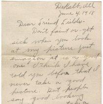 Image of 007_2015.162.4_minnie Specht To Reid Fields_june 4, 1918_page 01