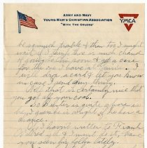 Image of 010_2015.162.4_reid Fields To Parents_june 9, 1918_page 03