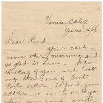 Image of 012_2015.162.4_mandi To Reid Fields_june 11, 1918_page 01