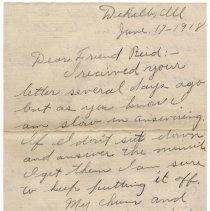 Image of 015_2015.162.4_minnie Specht To Reid Fields_june 17, 1918_page 01