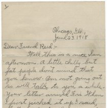 Image of 016_2015.162.4_clara Wrasse To Reid Fields_june 23, 1918_page 01