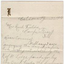 Image of 020_2015.162.4_loduska To Reid Fields_june 23, 1918_page 01
