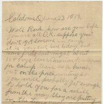 Image of 021_2015.162.4_joe G. To Reid Fields_june 23, 1918