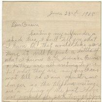 Image of 022_2015.162.4_laura Belle To Reid Fields_june 23, 1918_page 01