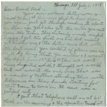 Image of 028_2015.162.4_clara Wrasse  To Reid Fields_july 1, 1918_page 01
