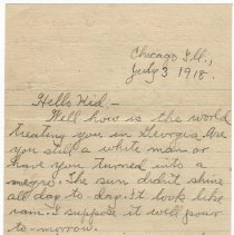 Image of 030_2015.162.4_clara Wrasse  To Reid Fields_july 3, 1918_page 01