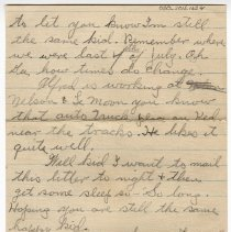 Image of 030_2015.162.4_clara Wrasse  To Reid Fields_july 3, 1918_page 02