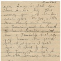 Image of 033_2015.162.4_elwated Eyebrows  To Reid Fields_july 3, 1918_page 02