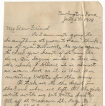 Image of 034_2015.162.4_clara Wrasse  To Reid Fields_july 5, 1918_page 01