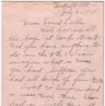 Image of 037_2015.162.4_minnie Specht To Reid Fields_july 6, 1918_page 01