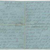 Image of 043_2015.162.4_ekie Bolse To Reid Fields_july 16, 1918_page 01-02