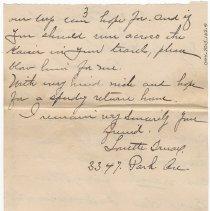 Image of 044_2015.162.4_loretta Truax To Reid Fields_july 16, 1918_page 03