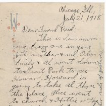 Image of 049_2015.162.4_clara Wrasse To Reid Fields_july 21, 1918_page 01