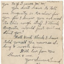 Image of 049_2015.162.4_clara Wrasse To Reid Fields_july 21, 1918_page 05