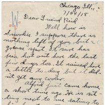 Image of 050_2015.162.4_clara Wrasse To Reid Fields_july 24, 1918_page 01
