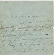 Image of 051_2015.162.4_hattie To Reid Fields_july 25, 1918_page 01