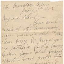 Image of 052_2015.162.4_pert Elmore To Reid Fields_july 29, 1918_page 01