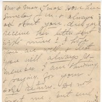 Image of 052_2015.162.4_pert Elmore To Reid Fields_july 29, 1918_page 06