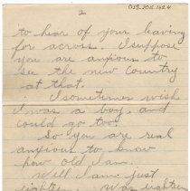 Image of 053_2015.162.4_minnie Specht To Reid Fields_july 29, 1918_page 02
