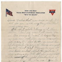 Image of 055_2015.162.4_reid Fields To Parents_july 29, 1918_page 03