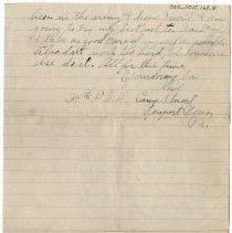 Image of 055_2015.162.4_reid Fields To Parents_july 29, 1918_page 04