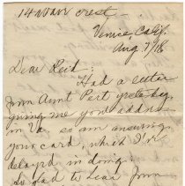 Image of 062_2015.162.4_maude Gute To Reid Fields_august 7, 1918_page 01