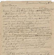Image of 063_2015.162.4_reid Fields To Clara Wrasse_august 17, 1918