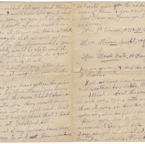Image of 067_2015.162.4_reid Fields To Parents_august 29, 1918_page 02-03