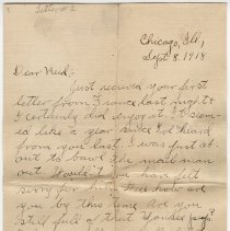 Image of 068_2015.162.4_clara Wrasse To Reid Fields_september 8, 1918_page 01