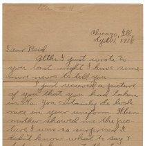 Image of 071_2015.162.4_clara Wrasse To Reid Fields_september 11, 1918_page 01