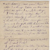 Image of 072_2015.162.4_reid Fields To Clara Wrasse_september 12, 1918_page 02