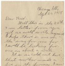 Image of 075_2015.162.4_clara Wrasse To Reid Fields_september 20, 1918_page 01