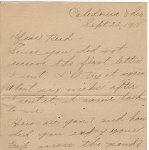 Image of 077_2015.162.4_naomi Thew To Reid Fields_september 22, 1918_page 01