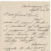 Image of 078_2015.162.4_mary Hinds To Reid Fields_september 22, 1918_page 01
