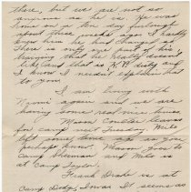 Image of 078_2015.162.4_mary Hinds To Reid Fields_september 22, 1918_page 02