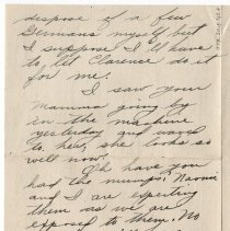 Image of 078_2015.162.4_mary Hinds To Reid Fields_september 22, 1918_page 03