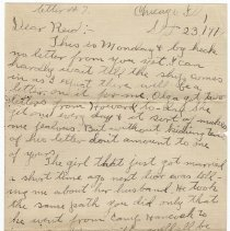 Image of 079_2015.162.4_clara Wrasse To Reid Fields_september 23, 1918_page 01