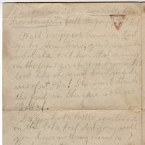 Image of 081_2015.162.4_reid Fields To Clara Wrasse_september 27, 1918_page 03