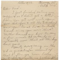 Image of 085_2015.162.4_clara Wrasse To Reid Fields_october 3, 1918_page 01
