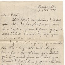 Image of 091_2015.162.4_clara Wrasse To Reid Fields_october 17, 1918_page 01