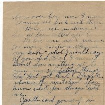 Image of 092_2015.162.4_reid Fields To Clara Wrasse_october 20, 1918_page 03