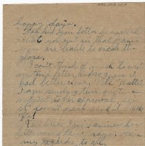 Image of 092_2015.162.4_reid Fields To Clara Wrasse_october 20, 1918_page 04