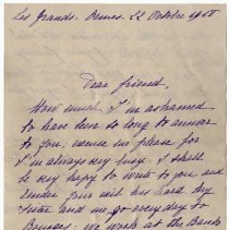 Image of 093_2015.162.4_martha Hoeheseau To Reid Fields_october 22, 1918_page 01
