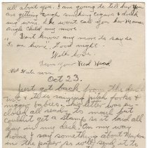 Image of 094_2015.162.4_clara Wrasse To Reid Fields_october 22, 1918_page 05
