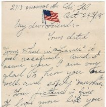 Image of 096_2015.162.4_pert Elmore To Reid Fields_october 24, 1918_page 01