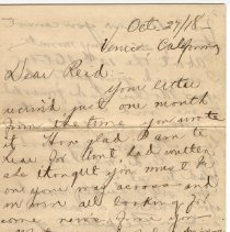 Image of 097_2015.162.4_maude Gute To Reid Fields_october 27, 1918_page 01