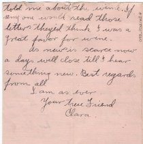 Image of 098_2015.162.4_clara Wrasse To Reid Fields_october 27, 1918_page 04