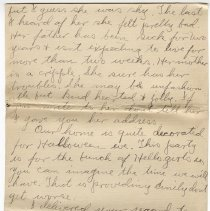 Image of 100_2015.162.4_clara Wrasse To Reid Fields_october 29, 1918_page 05