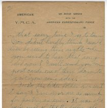 Image of 103_2015.162.4_reid Fields To Clara Wrasse_october 30, 1918_page 03
