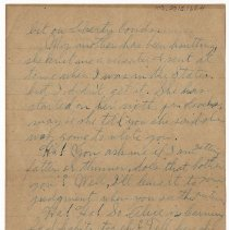 Image of 103_2015.162.4_reid Fields To Clara Wrasse_october 30, 1918_page 04